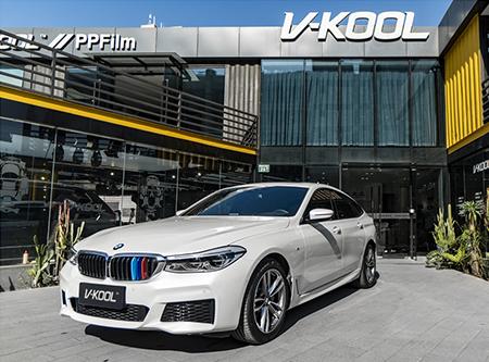 矿石白 | 宝马6GT贴威固V100超厚超亮系列隐形车衣,有膜力把关行驶更安心!